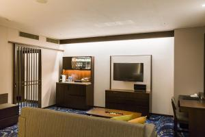 A television and/or entertainment center at Hotel Ryumeikan Ochanomizu Honten