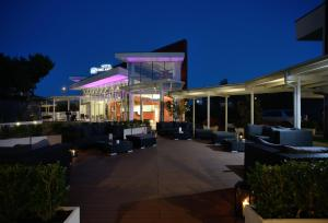 A porch or other outdoor area at Best Western Hotel Rome Airport