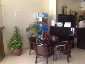 منطقة الاستقبال أو اللوبي في لافينا للاجنحة الفندقية
