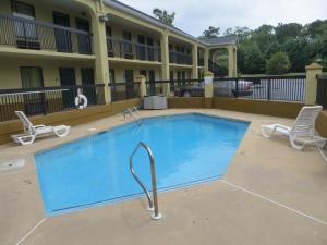 The swimming pool at or near Days Inn by Wyndham Elberton