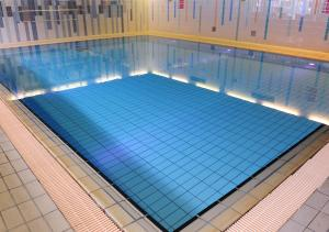 The swimming pool at or near Ramada Telford Ironbridge