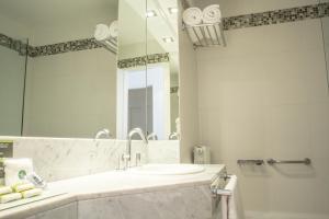 Ванная комната в Agua Dulce Hotel