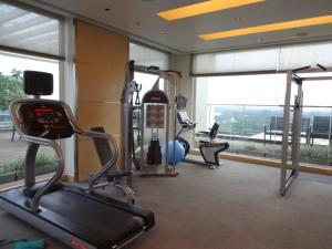 The fitness center and/or fitness facilities at The Raintree, Anna Salai