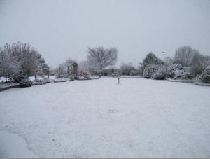 Eastcote Luxury Guest House during the winter