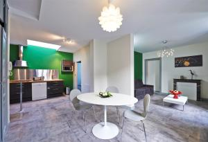 A seating area at Appartement Terra XXL