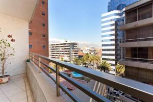 Uma varanda ou terraço em Departamentos Amoblados Costa 151