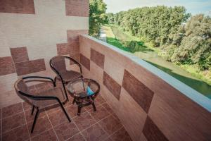 A balcony or terrace at Molex Apartments 2