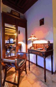 Τραπέζι μπιλιάρδου στο Ξενώνας Νιάουστα