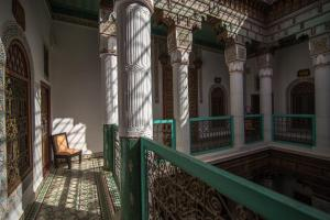 A balcony or terrace at Riad Palais Sebban