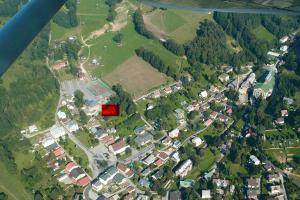 Letecký snímek ubytování Černý důl 18