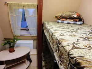 Кровать или кровати в номере Хостел Hostel Little