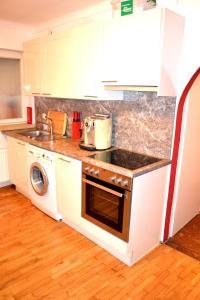 Küche/Küchenzeile in der Unterkunft Easyapartment Altstadt 2