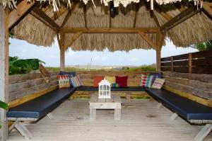Uma área de estar em Casa Del Sol