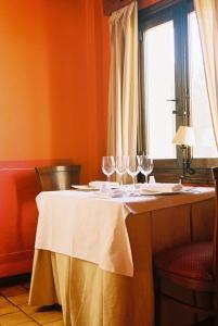 A restaurant or other place to eat at Hospederia El Batan