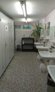 Lobby/Rezeption in der Unterkunft Pilger-Hüttli - Blockhaus