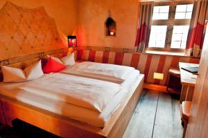 Een bed of bedden in een kamer bij Hotel San Gabriele