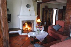 Zona de estar de Casa Maite - Bubión