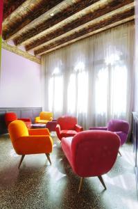 Uma área de estar em Hotel Cà Zusto Venezia