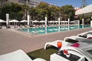The swimming pool at or near Melia Lebreros