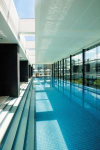 The swimming pool at or near Crown Promenade Melbourne