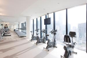 The fitness center and/or fitness facilities at Crown Metropol Melbourne