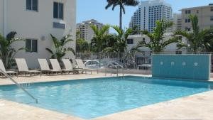 The swimming pool at or near Tranquilo