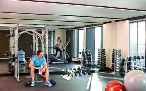 The fitness center and/or fitness facilities at Novotel Auckland Airport