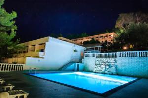 The swimming pool at or near Hotel Lavanda