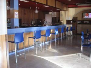Лаундж или бар в Hotel Machaco