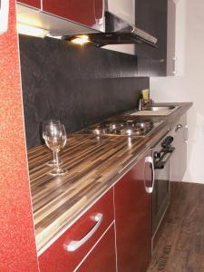 Küche/Küchenzeile in der Unterkunft Ferienhaus Eberbach