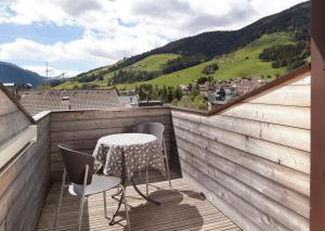 Balcone o terrazza di Residence Innichen - San Candido