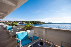 A balcony or terrace at Hotel Agava