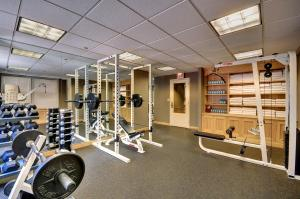The fitness center and/or fitness facilities at The Whitehall Hotel