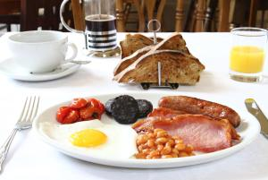 Breakfast options available to guests at The Grange Court Hotel