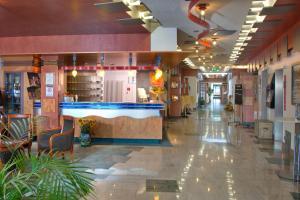 Lounge oder Bar in der Unterkunft Posthotel Rotenburg