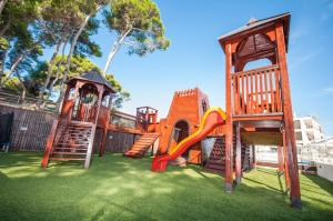 Children's play area at Hotel Mirta