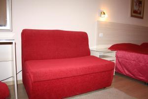 Кът за сядане в Хотел Акрополис