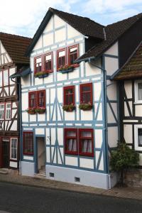 Haus Alice im Winter