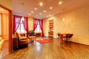 Гостиная зона в СТН Апартаменты на Невском 60