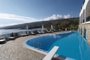 The swimming pool at or near Erofili Beach Hotel