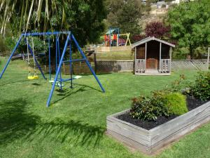 Children's play area at Barwon Valley Lodge