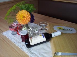 Getränke in der Unterkunft Stübilerhof