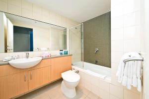 A bathroom at Quest Flemington
