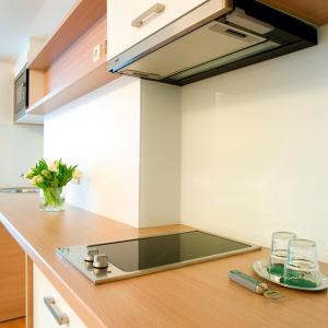 Una cocina o zona de cocina en Hotel Simoncini