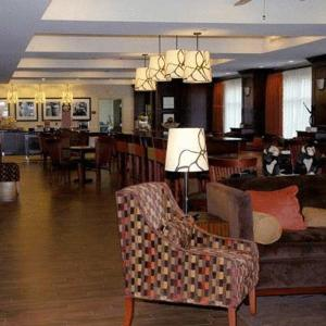 A restaurant or other place to eat at Hampton Inn Matamoras