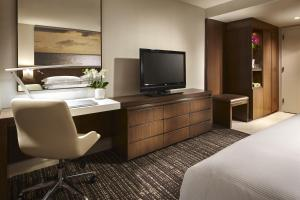 A television and/or entertainment center at Hilton San Diego Mission Valley