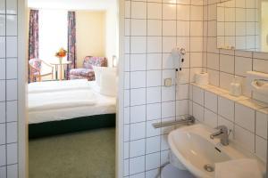 Ein Badezimmer in der Unterkunft Apart Hotel Weimar