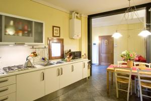 A kitchen or kitchenette at Apartment Oltrarno Firenze