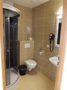 """Vonios kambarys apgyvendinimo įstaigoje Kaimo turizmas """"Svečių namai Moteliukas"""""""