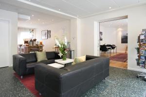 Ein Sitzbereich in der Unterkunft Hotel Copenhagen